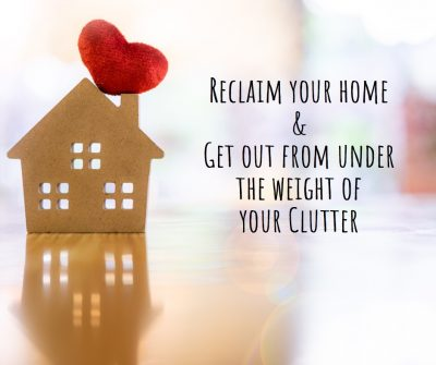 cluttered home, overwhelmed, don't know where to start, homes revamped