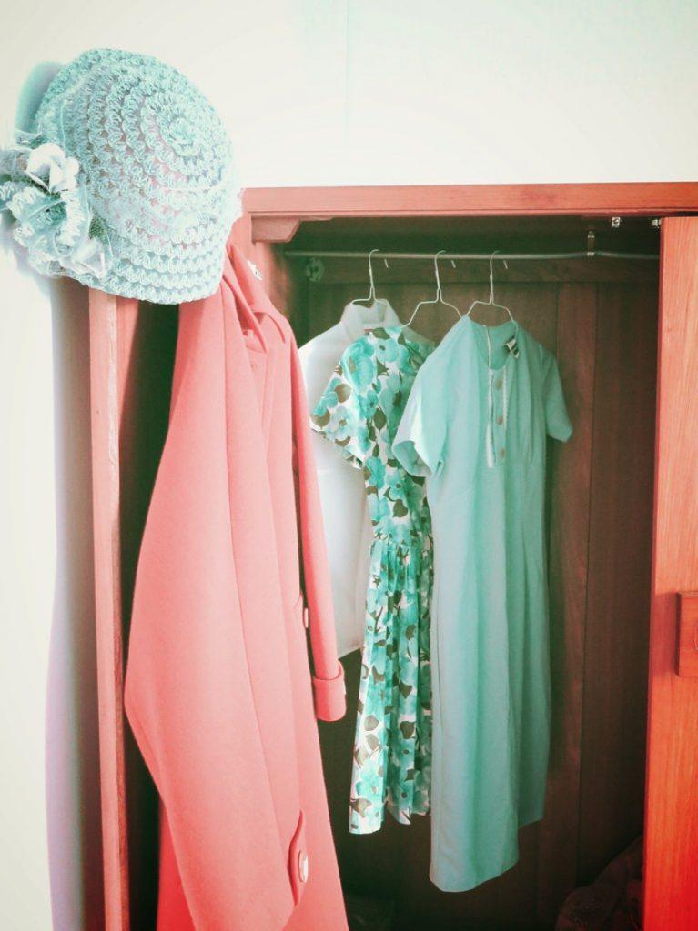 Retro Wardrobe Uncluttered Homes Revamped Wardrobe Declutter