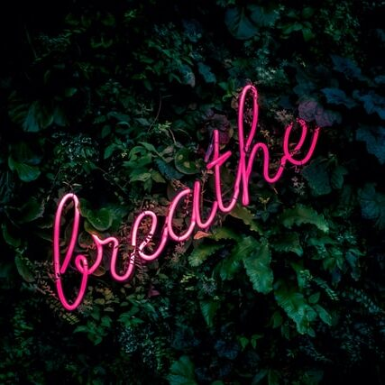 decluttering helps you breath